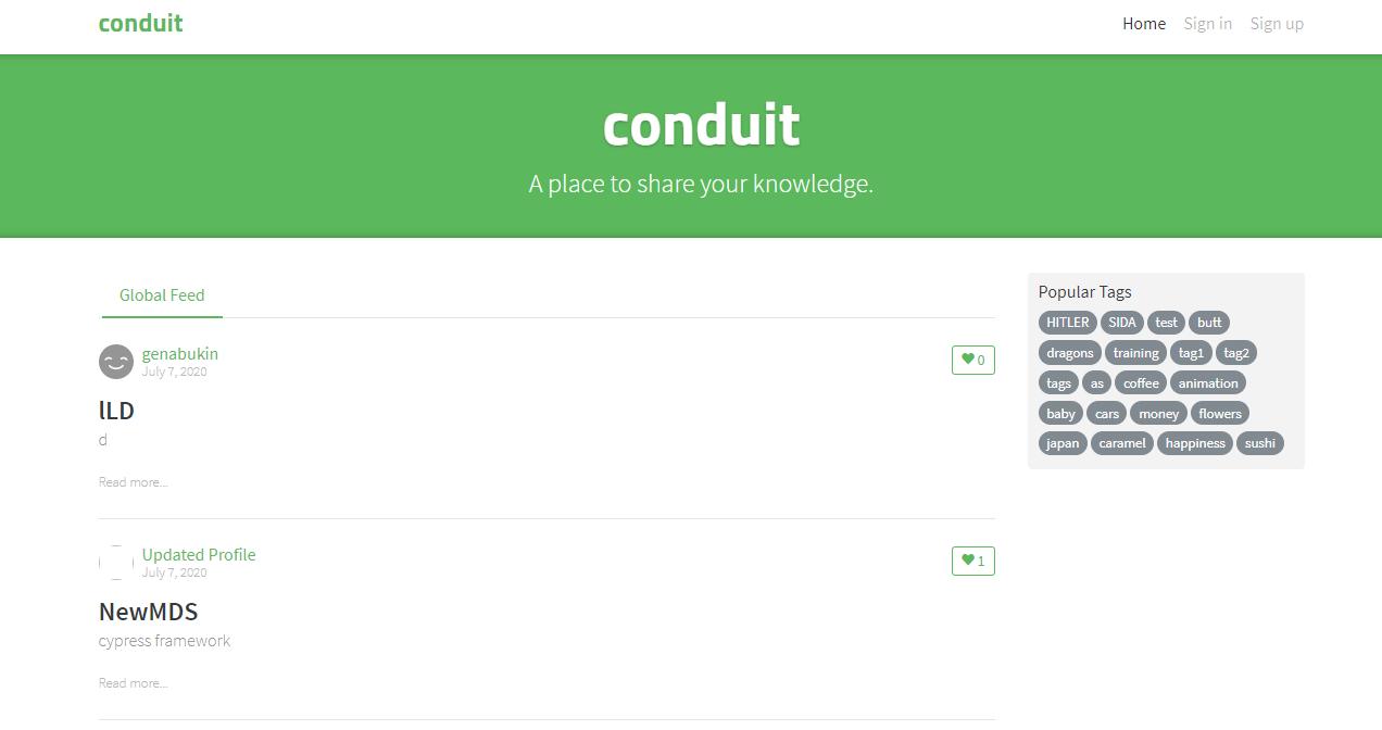 Conduit Demo