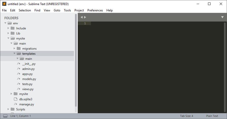 templates > main folder
