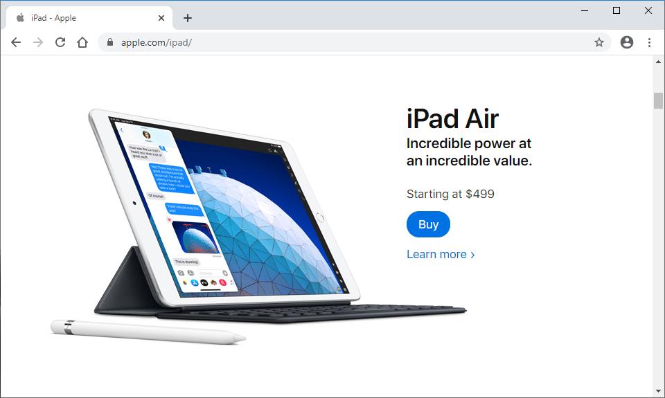 apple.com font pairings