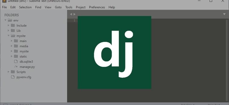 Django Quick Start Guide for Basic Configurations