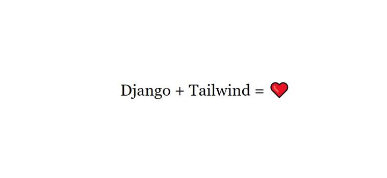 How to Create a Django Tailwind Web App