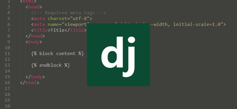 How to use the Extends and Include Django Template Tags