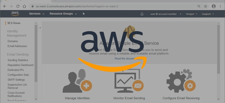 Setting up AWS SES Email Backend for Production