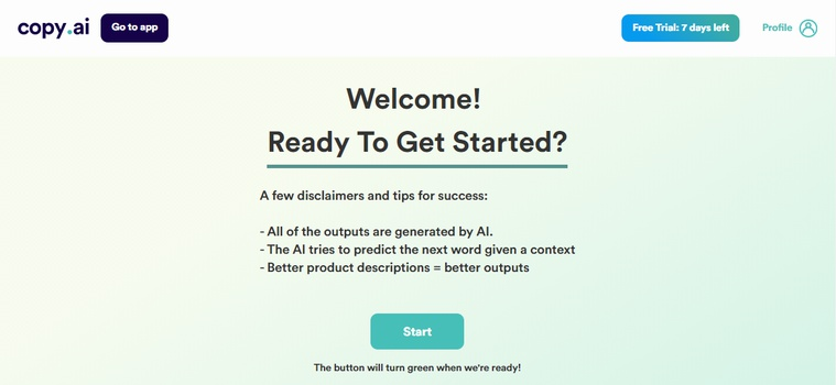 Review: Copy AI's Automated Creativity Tools