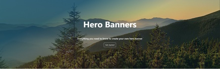 How to Make a HTML Hero Banner