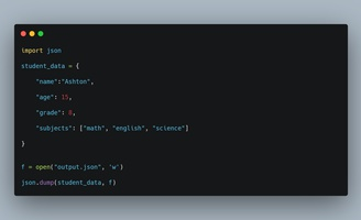 How to work with JSON Data in Python