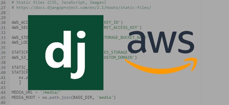 Serve Django Static and Media Files in Production