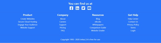 18 Responsive Bootstrap Footer Examples