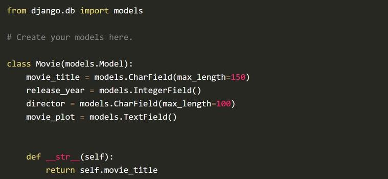 How to use Django Models