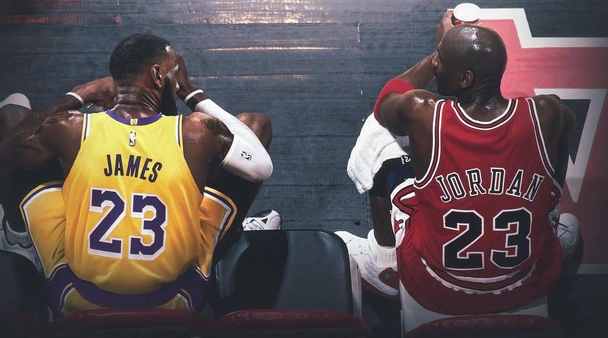 Michael Jordan vs Lebron James: The true G.O.A.T shows improvement