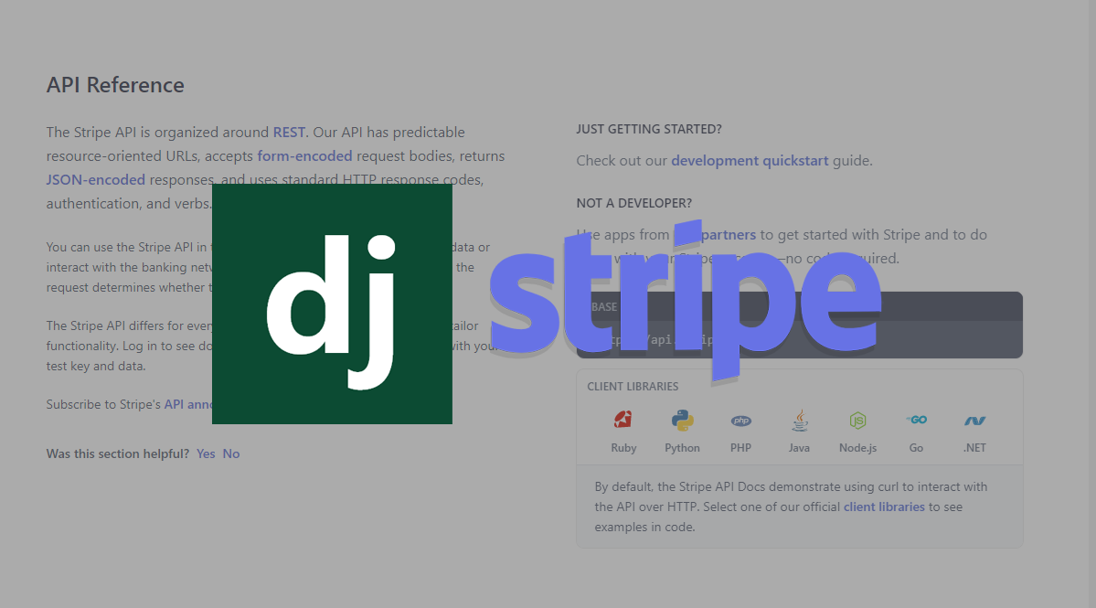 Django and Stripe Integration