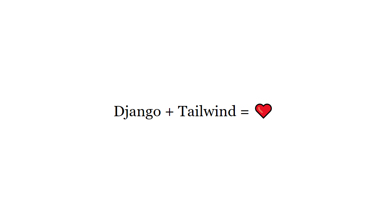How to Create a Django Tailwind Web App