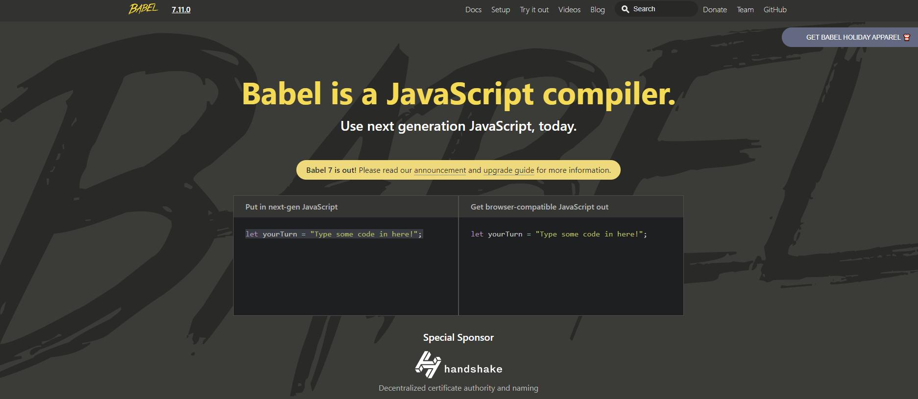 Babel documentation