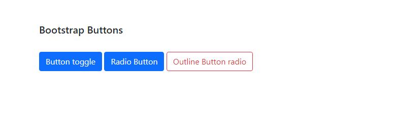 Bootstrap button inputs