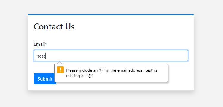 Django EmailField in browser