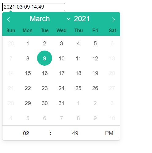 React Date Picker disable days of the week
