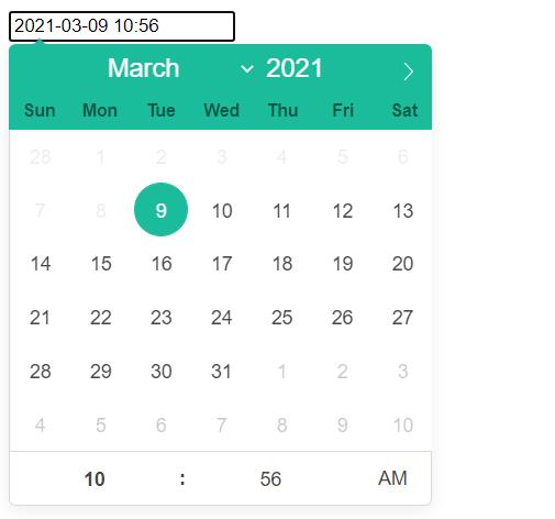 React Datepicker Minimum Date