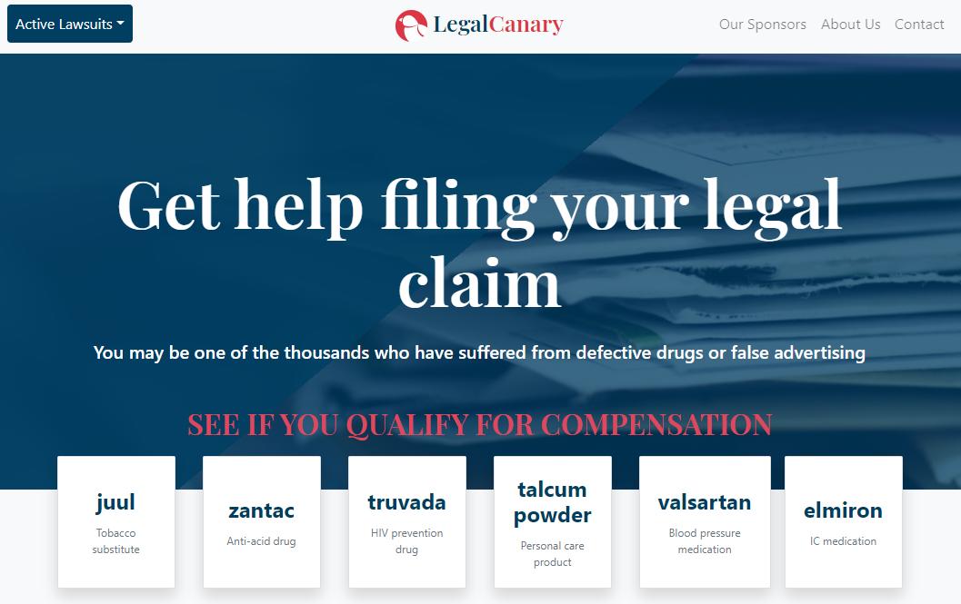 Legal Canary CTA