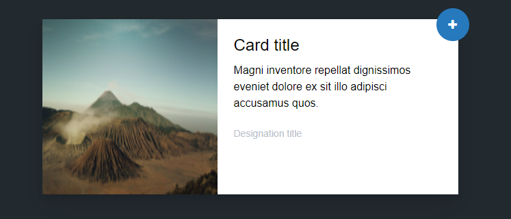 Tailwind CSS card