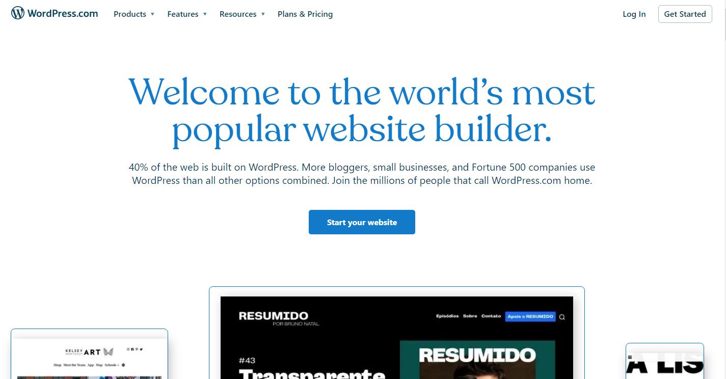 Create a Blog on Wordpress
